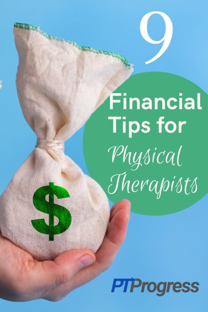 financial tips for physical therapists