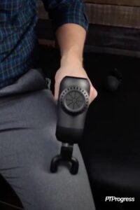 fork massage gun head