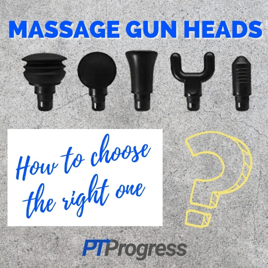 massage gun heads