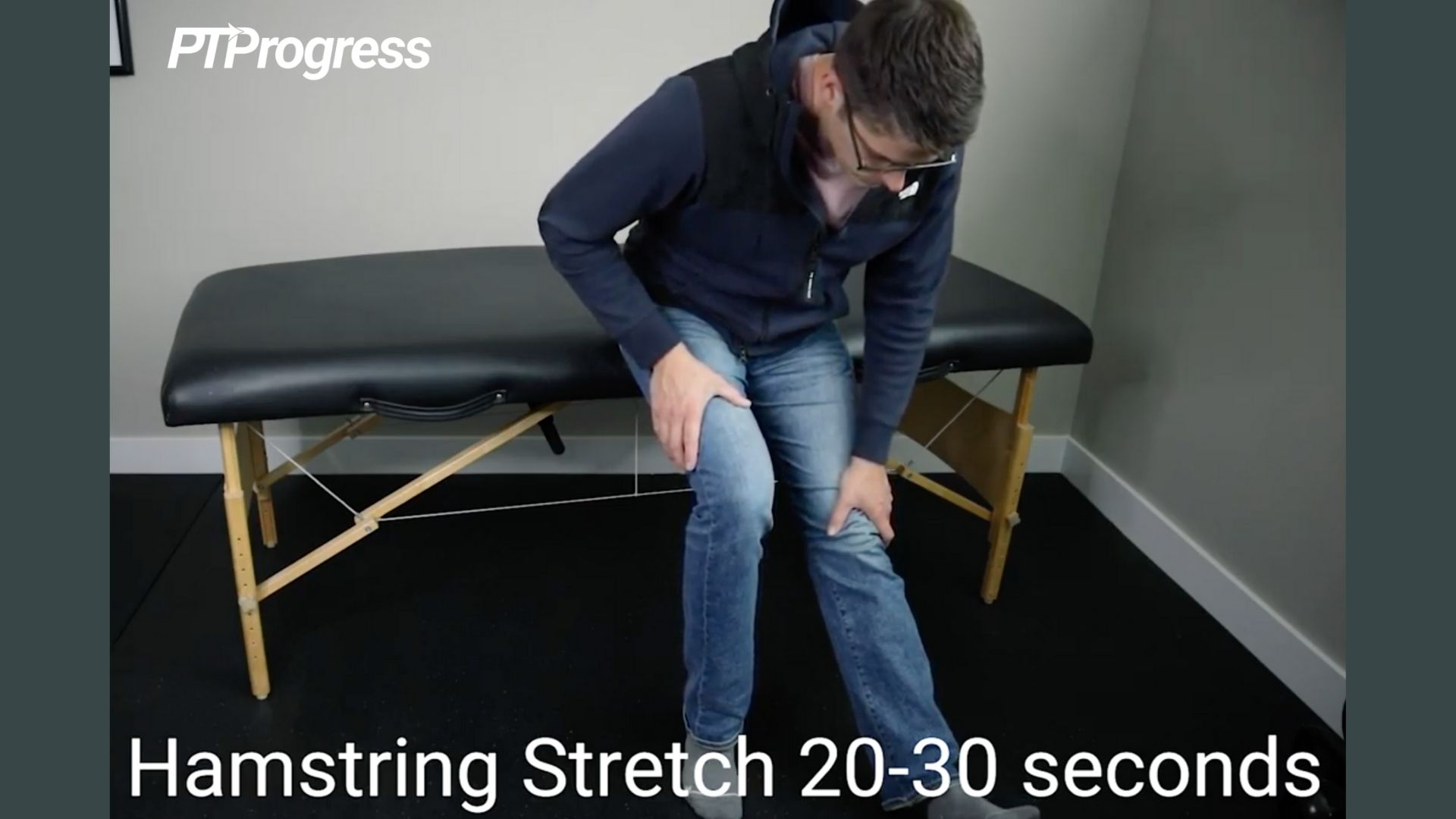 hamstring stretch for covid recovery
