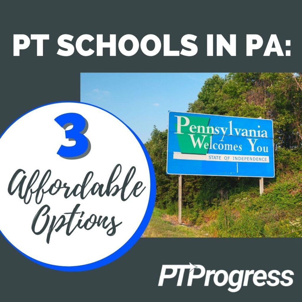 Pennsylvania PT schools