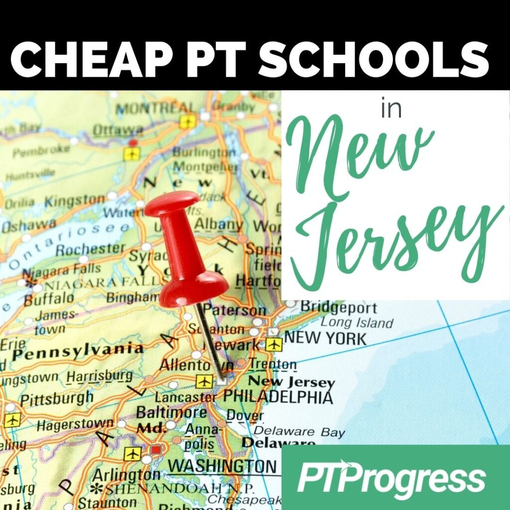 New Jersey PT schools
