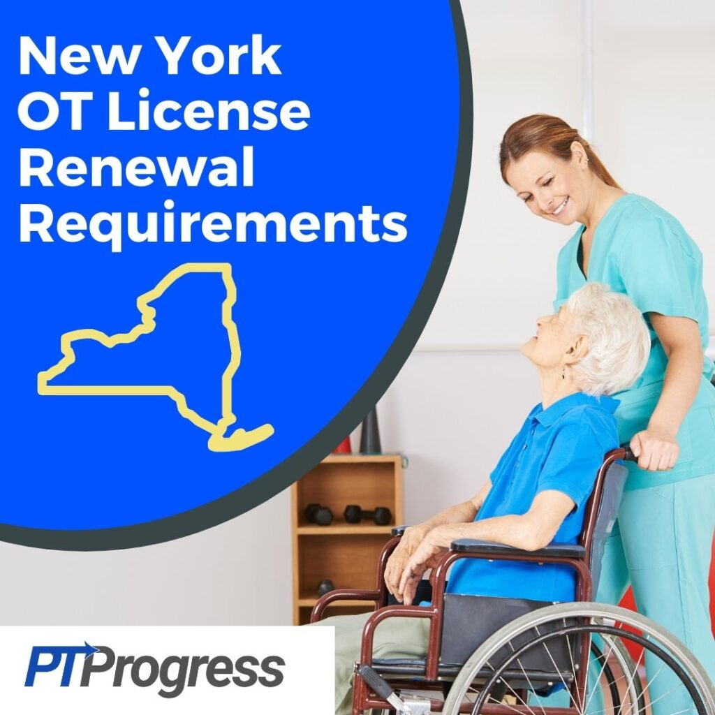 New York Occupational Therapy License Renewal Requirements