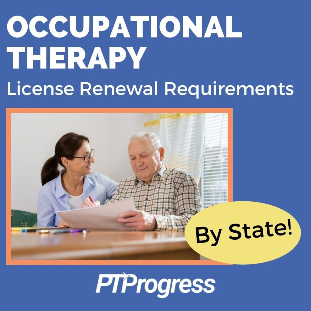 occupational therapy CEUs