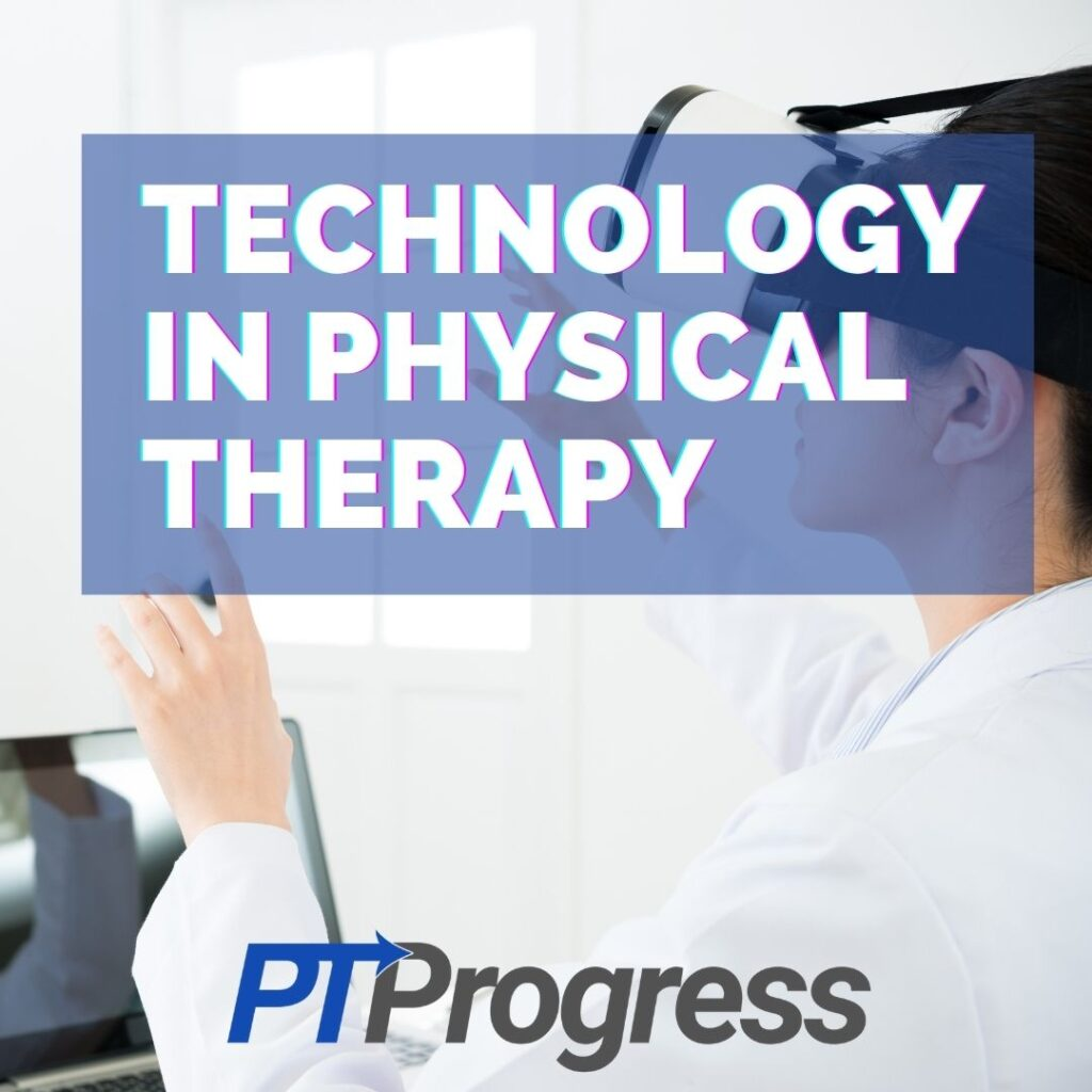 technology physical therapy