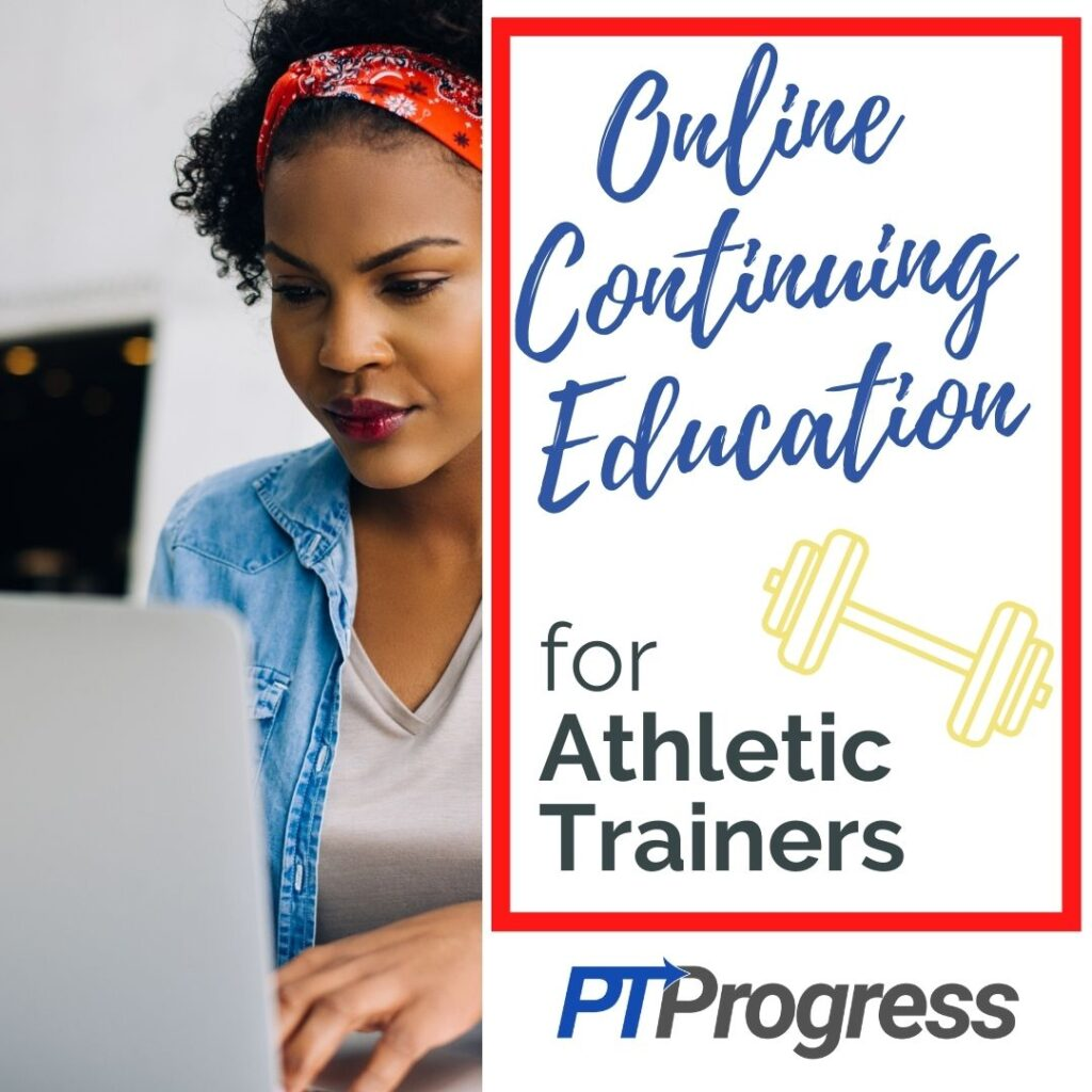 online continuing education for athletic trainers