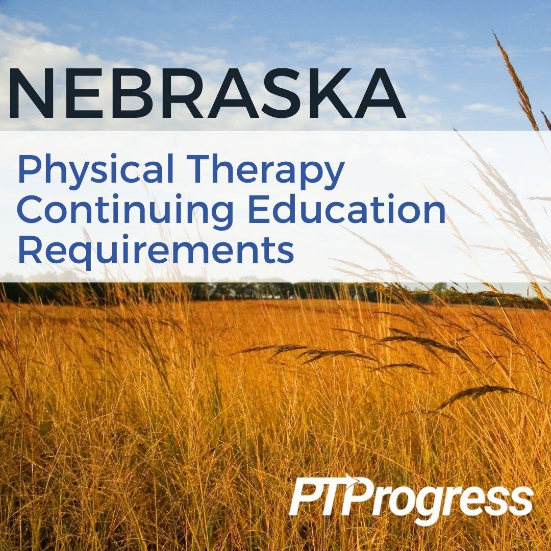 nebraska physical therapy license