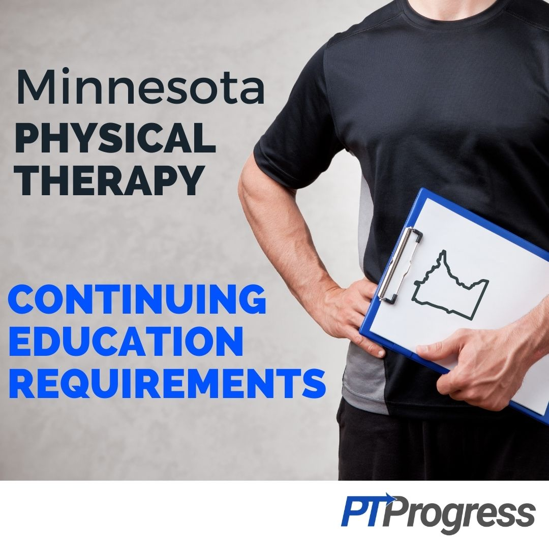 minnesota physical therapy license